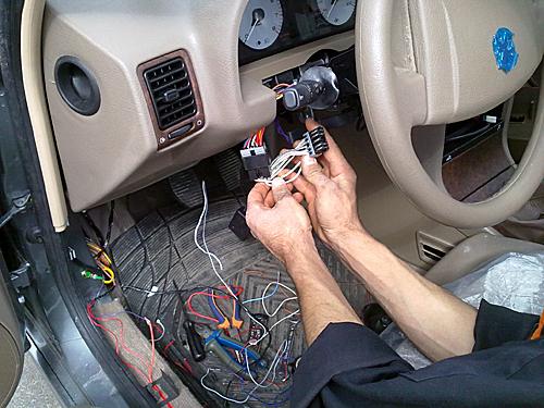 کارآموزی دزدگیر خودرو