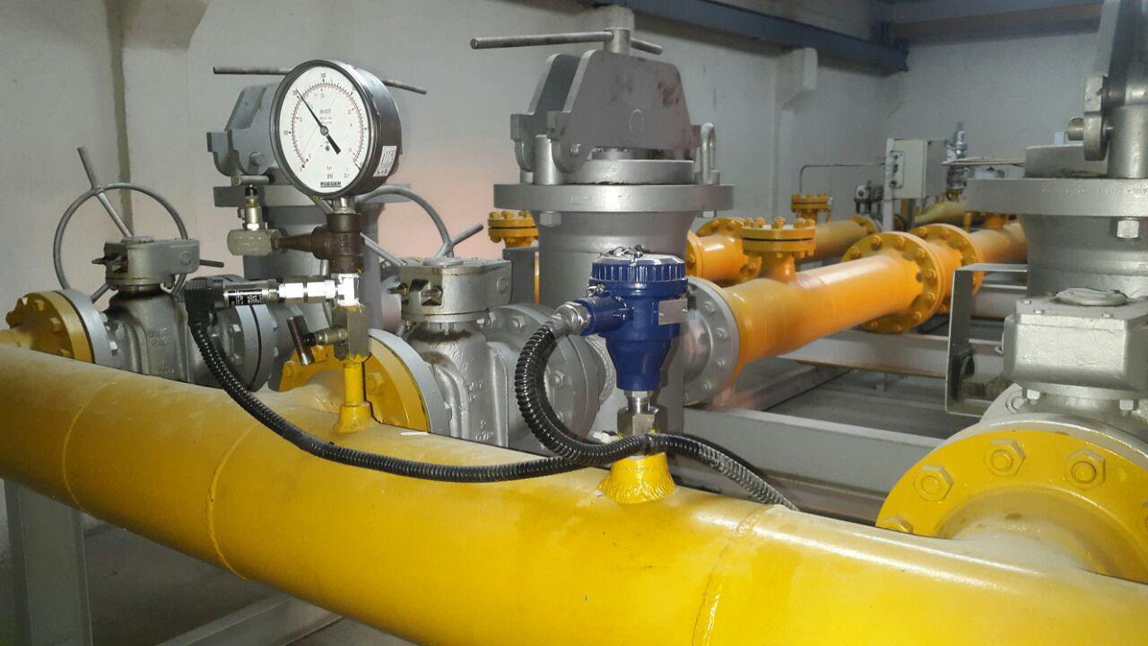 گزارش کارآموزی ایستگاههای تقلیل فشار گاز
